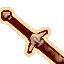 Иконка Железный короткий меч (Oblivion)