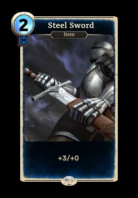 Стальной меч (Card)