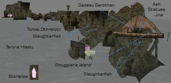 Smuggler's Den map