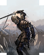 Grim Champion card art