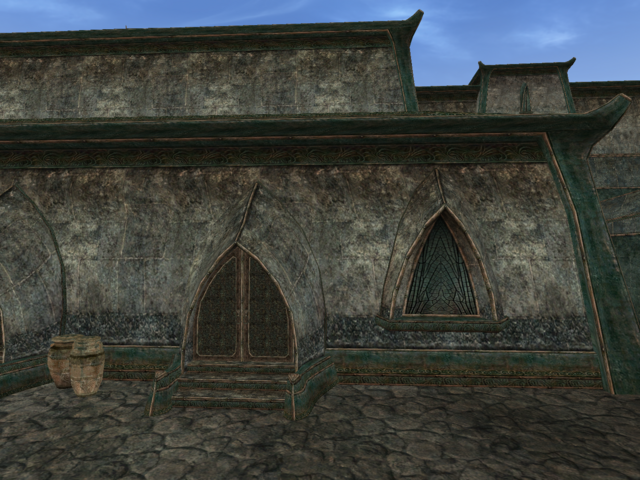File:Mournhold Great Bazaar Clothier Exterior View.png