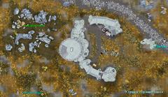 Западная сторожевая башня - план