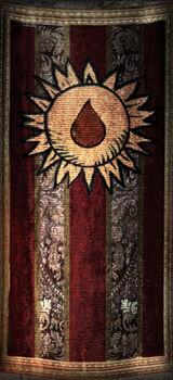 Орден Добродетельной крови (знамя)