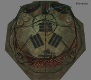 Ashkan Yurt Interior Map