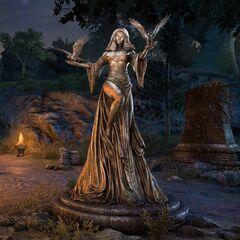 Posąg Nocnicy z gry The Elder Scrolls Online
