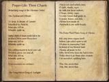 Proper-Life: Three Chants