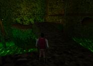 Redguard - The Goblin Caves - Cave Bridge