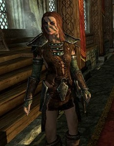 Skyrim aela the huntress