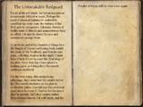 The Unbreakable Redguard