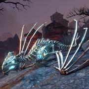 Нечестивый светящийся костяной дракон