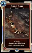 Card-Bone Bow