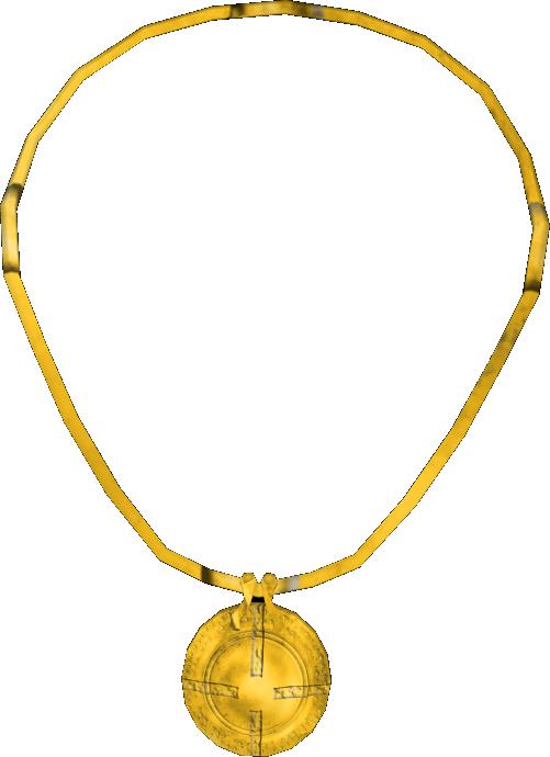 Image Gold Amulet O Elder Scrolls