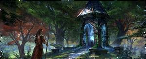 Бретонское дорожное святилище (концепт-арт)