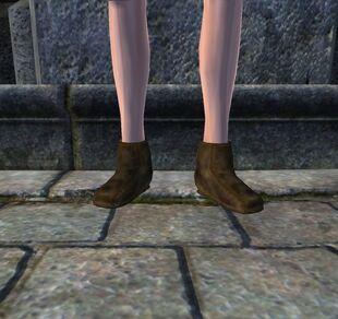 Туфли из свиной кожи