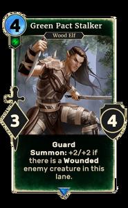 Green Pact Stalker