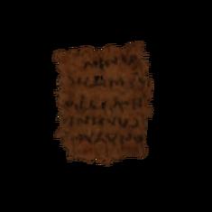 Записка Хрисскару - изображение