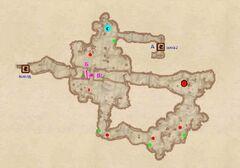 Пещера Дзонот. План