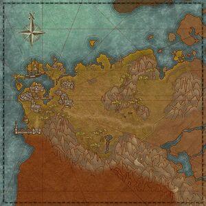 Сломанное побережье (карта)