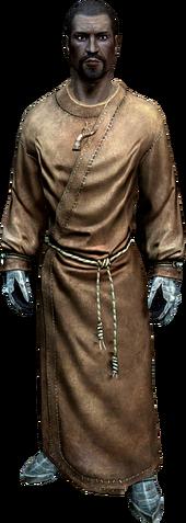 Флоренций Бений в монашеской рясе (в полный рост)