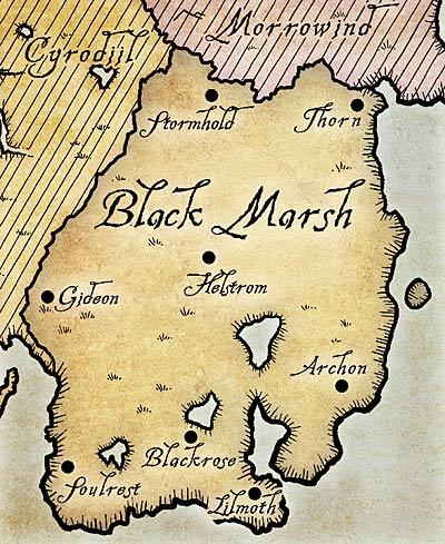 Чернотопье карта