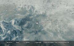 Abandoned prison map
