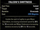 Falcon's Swiftness
