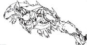 Senche-tiger illustration