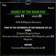 SignetoftheWarlock