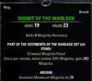 Vestments of the Warlock