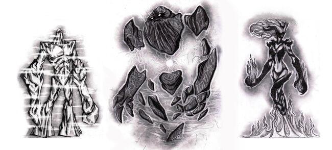 Атронахи групповой арт