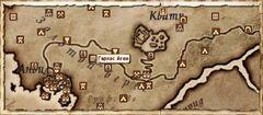 Гарлас Агея. Карта