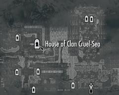 Дом клана Жестокое Море (карта)