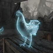 Призрачная курица