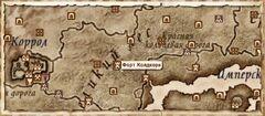 Форт Колдкорн (Карта)