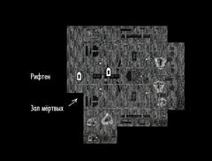 Храм Мары (Рифтен) - план