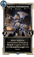 Ageless Automaton (Legends) DWD