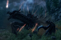 Alduin in Sovngarde