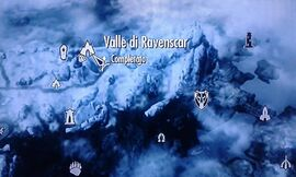 Caverna di Ravenscar mappa