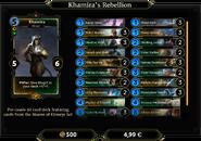 Khamira's Rebellion Deck 1