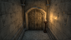 Monastery Undercroft Entrance