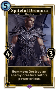 Spiteful Dremora (Legends)
