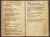 The Wilderking Legend