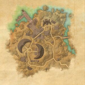 Крепость Моркул (план)