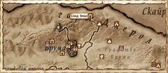 След Змеи. Карта