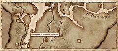 Таверна Пьяный дракон. Карта
