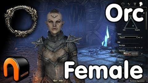 Video Elder Scrolls Online Orc Female Character