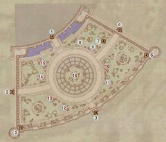 Карта Дендрария