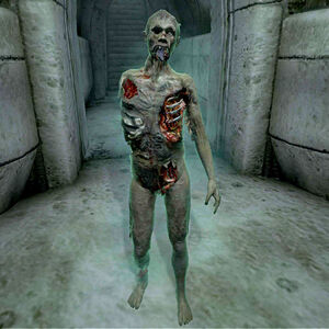 Ужасный зомби