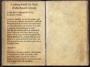 Crafting Motifs 36, Dark Brotherhood Helmets