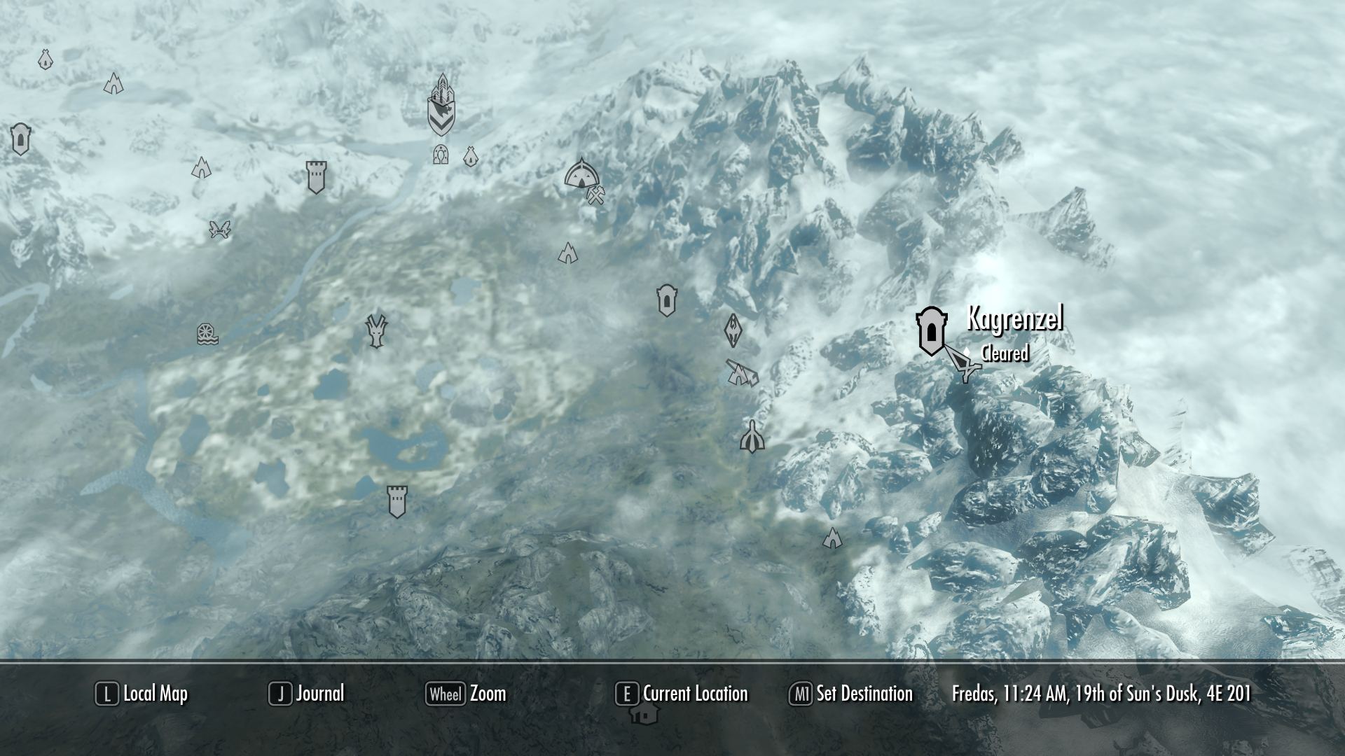 blackreach map with File Kagrenzel Location on Future Theme Parks further Marked every dragon priest and word wall location also Altered Skyrim Collector S Map 577895119 also Lost In The Nordic Wonderland Of Skyrim additionally 4646.